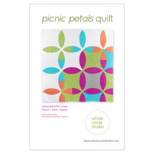 Whole Circle Studio : Picnic Petals Quilt Pattern
