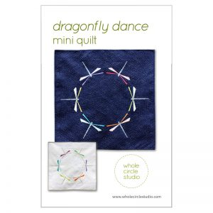 Whole Circle Studio : Dragonfly Dance Quilt Pattern