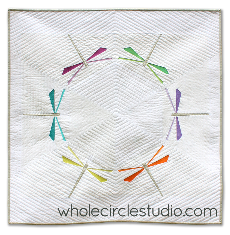 Dragonfly Dance Mini Quilt Pattern Pdf Download
