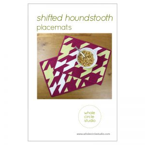 Whole Circle Studio : Shifted Houndstooth Placemat Pattern