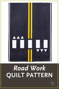 Looking for the perfect quilt to make for a car enthusiast? Road Work is an easy quilt top that can be completed in a weekend. This quilt is perfect for a kid's bed, a play room or to use at a car show. Instructions are provided for four sizes: Throw, Twin, Queen and Mini.