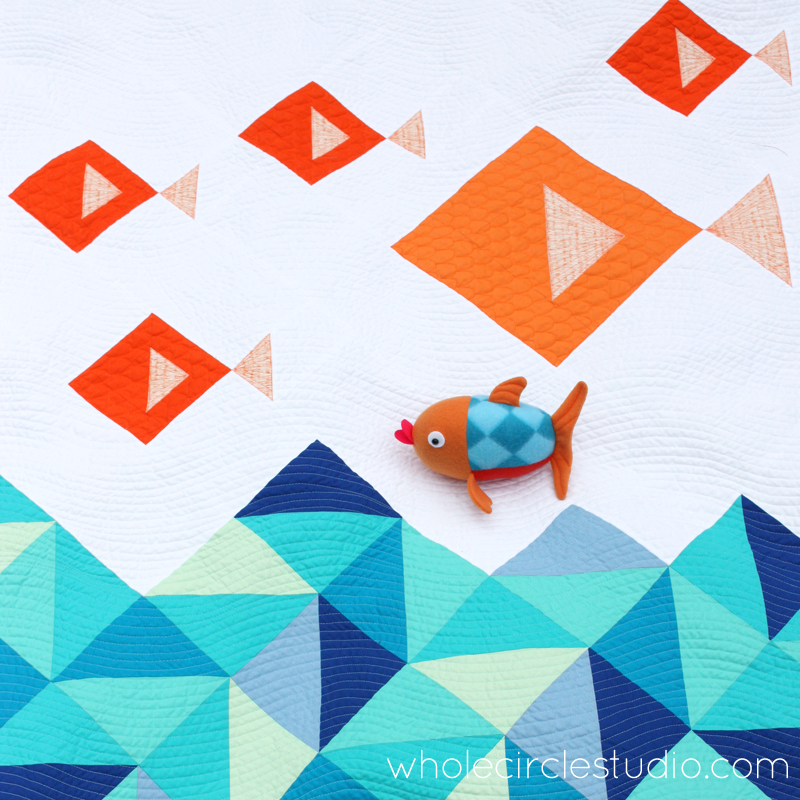 Little Fishies Quilt Penny The Fish Softie Patterns