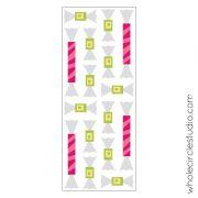 Shoreline Sweets blocks pattern by Sheri Cifaldi-Morrill | whole circle studio. Foundation paper piecing pattern. Cute candy blocks! Block pattern available at shop.wholecirclestudio.com