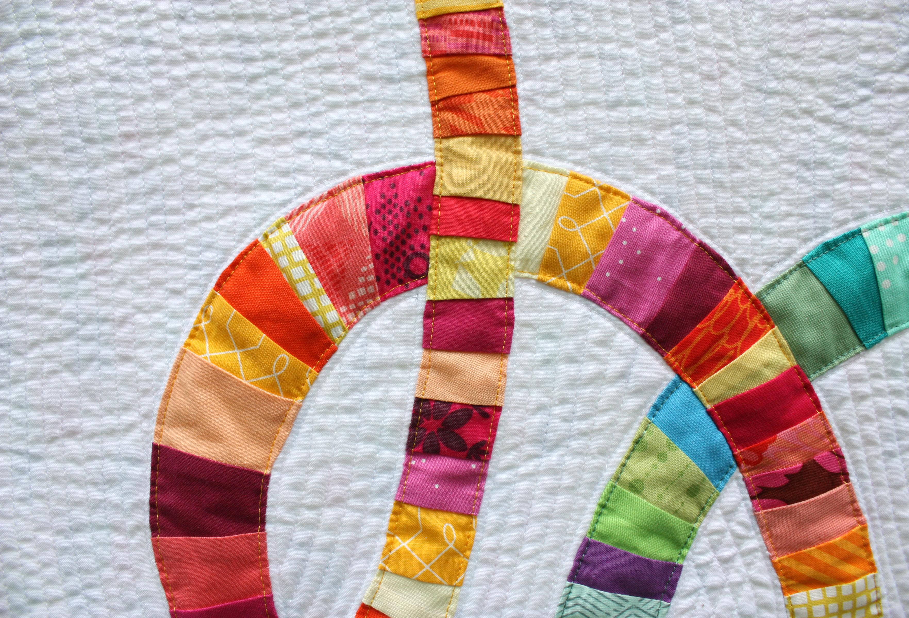 Double Wedding Knots Quilt Wholecirclestudio