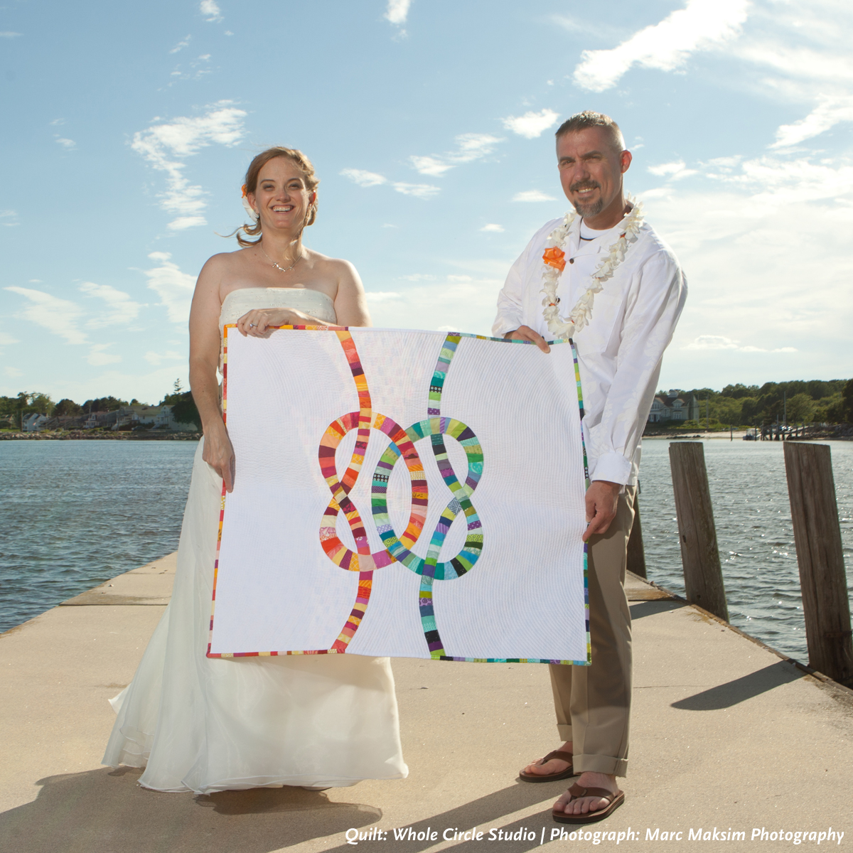 Double wedding knots quilt wholecirclestudio junglespirit Gallery