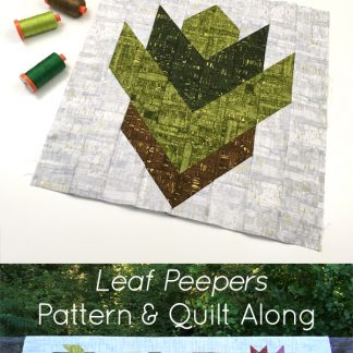 Looking for a fun, autumn quilting project?Join Leah Day and Sheri Cifaldi-Morrill of Whole Circle Studio in this easy fall quilt along. Leaf Peepers is the perfect table runner or wall hanging for Thanksgiving. Join us as we give tips and tutorials as we make these quilt blocks together! Visit http://blog.wholecirclestudio.com/leafpeepers for all the Quilt Along details.