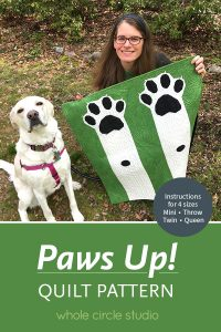 Foundation paper piecing pattern, dog, cat, animal, mini quilt, throw, queen, fpp, paper piecing, PDF download