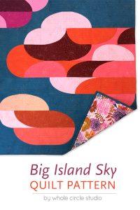 big island sky quilt pattern pdf download  wholecirclestudio